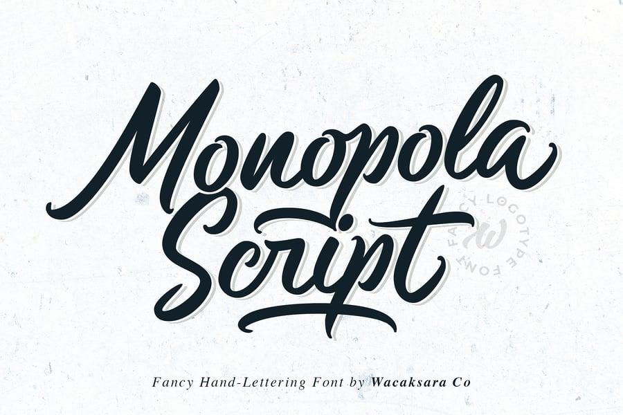 Image of Monopola Script