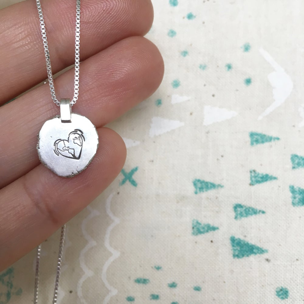 Image of Love my home necklace