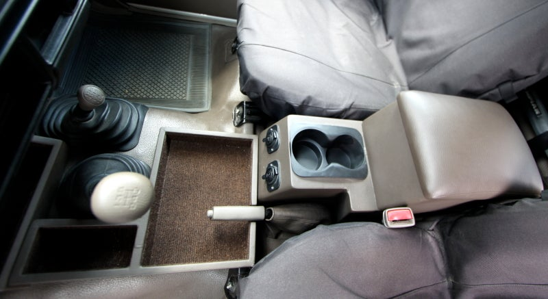 Image of PPaccesories Toyota Land Cruiser 70 series large ground console