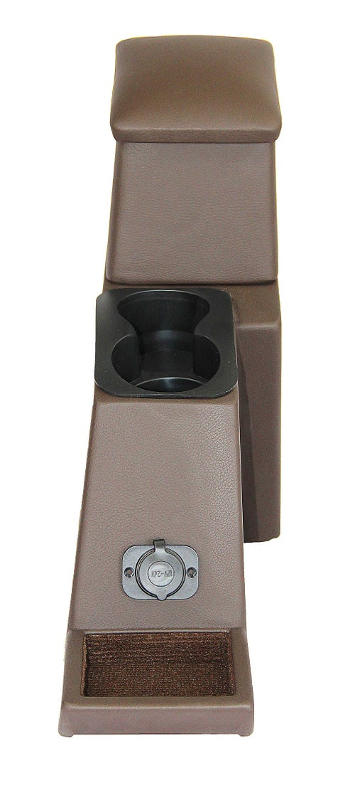 Image of PPaccesories Toyota Land Cruiser 70/71/73/75/78 series ground console (2 cups)