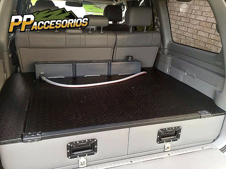 Image of PPaccessories Toyota Land Cruiser 100 series drawer slide