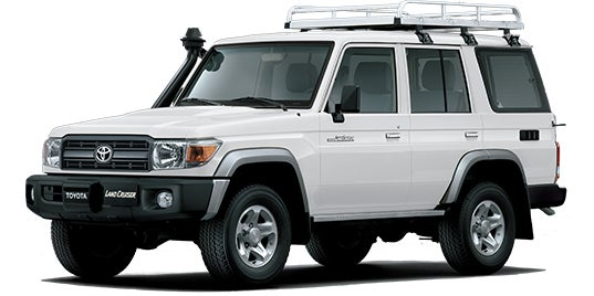 Image of PPaccessories Toyota Land Cruiser Prado/76/77 series drawer slide system