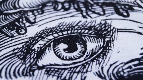 """Image of """"3rd Eye Blind"""" White Ringer T-Shirt"""