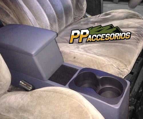 Image of PPaccessories Toyota Land Cruiser FJ40 center console