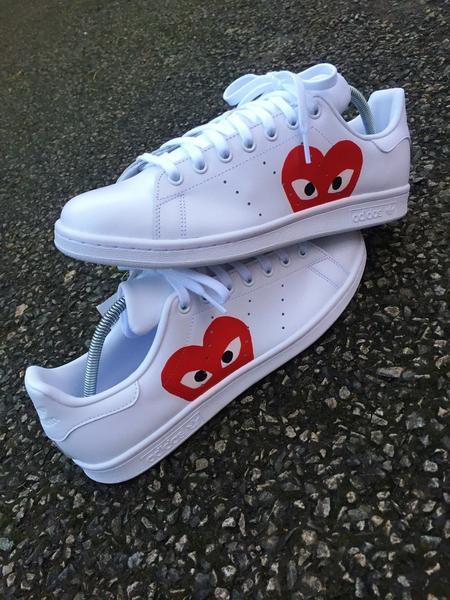 *Brand New* Comme des Garcons x ADIDAS Stan Smiths NWT