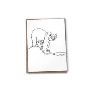 Image of POLAR BEAR line drawing