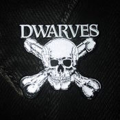 Image of The Dwarves Skull &.Cross Boners Enamel Pin
