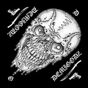 Image of Demigodz 'Dripping Skull' Bandana