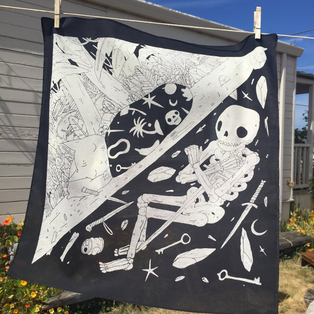 Image of Sleeping Bandana
