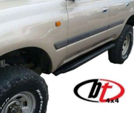Image of BT4x4 Toyota Land Cruiser 80 series rock sliders