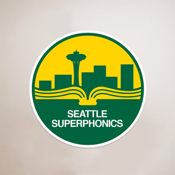 Image of Seattle Superphonics sticker