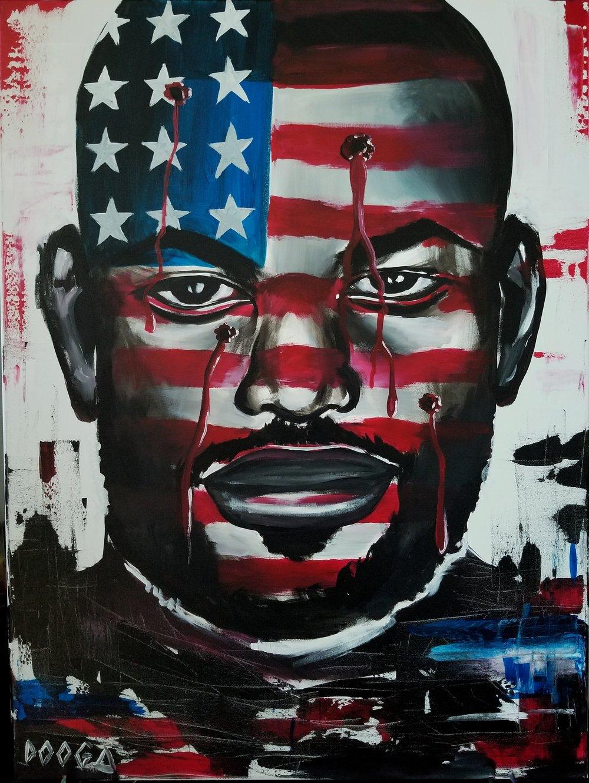 Image of Black Man in America