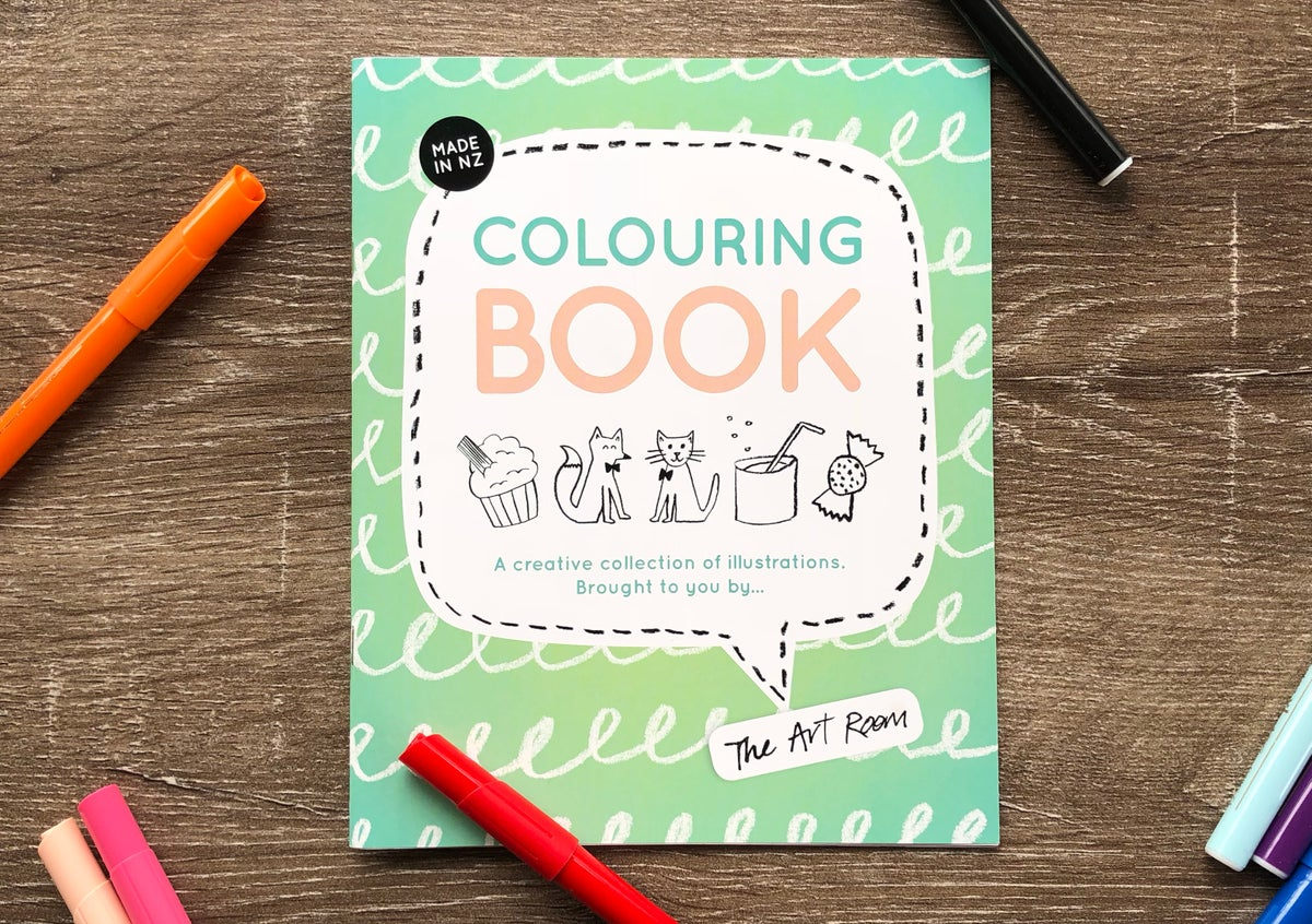 Colouring Book + The Art Room