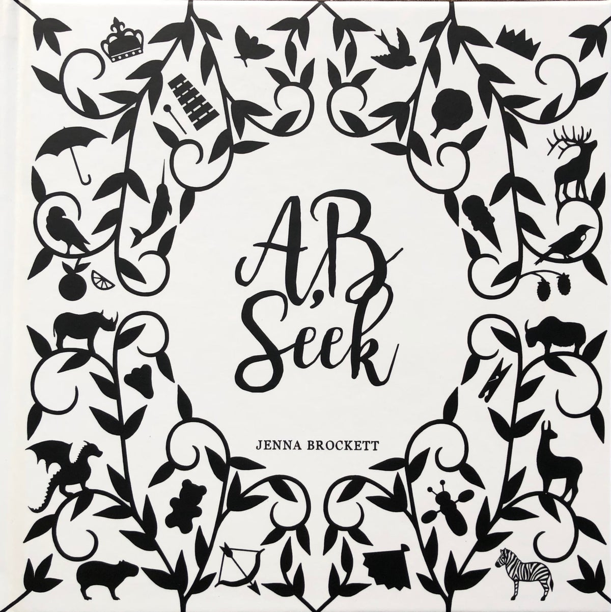 A B SEEK = Alphabet hide and seek