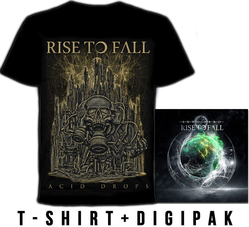 Image of T-SHIRT + INTO ZERO DIGIPAK PRE-ORDER