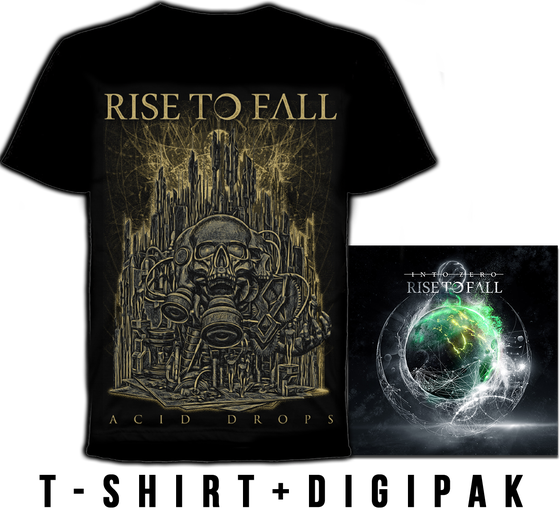 Image of T-SHIRT + INTO ZERO DIGIPAK