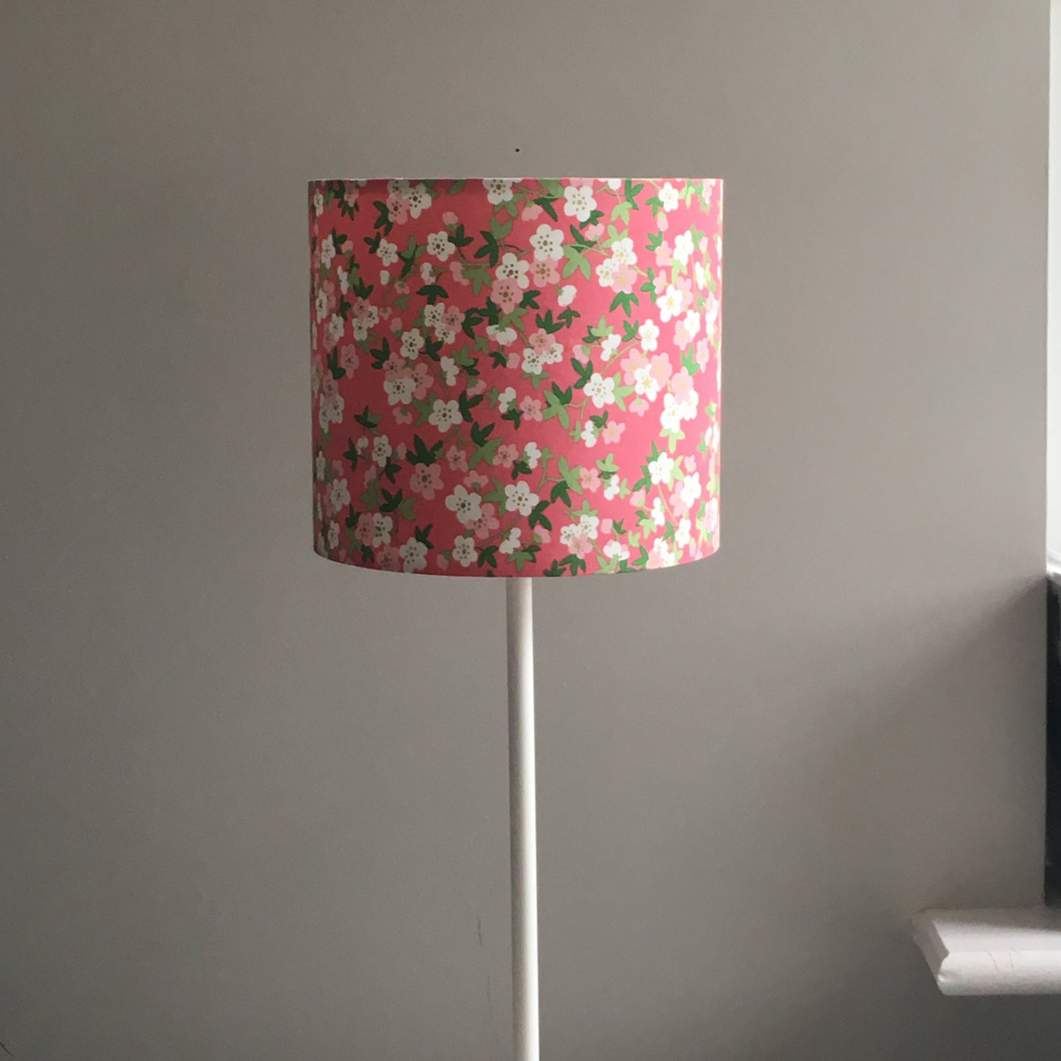 Image of Floral Pink with Sparkle Shade