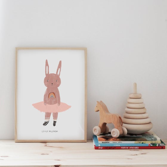 Image of BALLERINA ILLUSTRATION