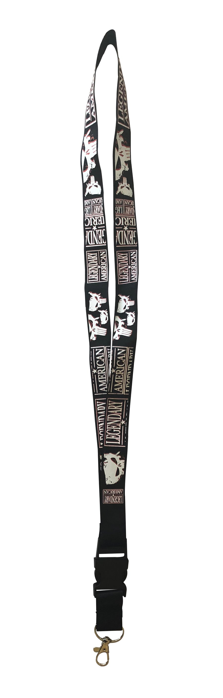 Image of Legendary American American Punisher Lanyard