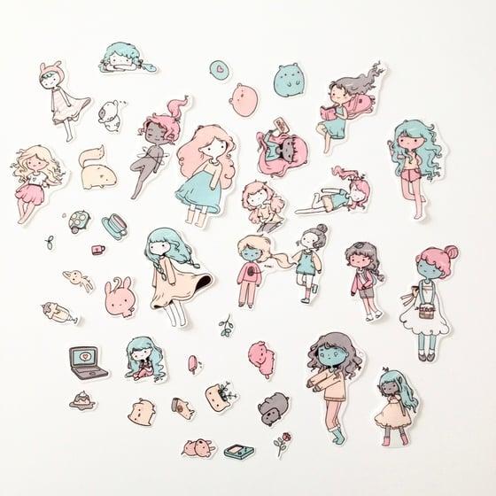 Image of Stickers • Random stickers #1