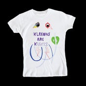 Image of KLAXONS ARE KUNTS - SKINNY/WOMENS TEE
