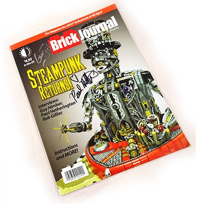 Image of STEAMPUNK Brickjournal #51 Autographed copy!