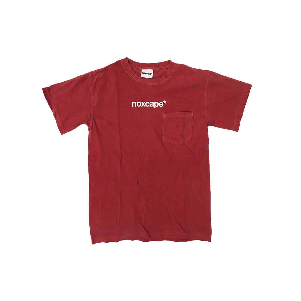 Image of Red Pocket T-shirt