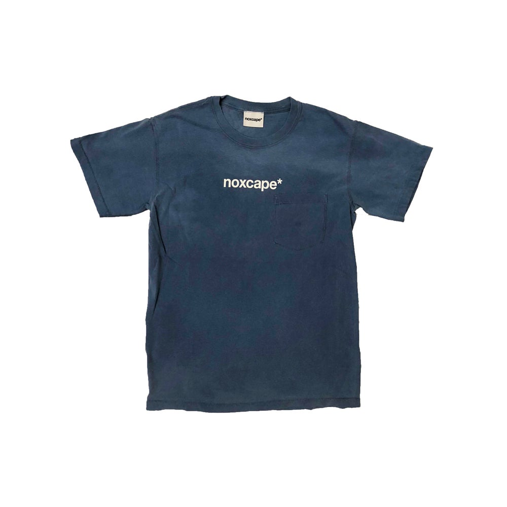 Image of Blue Pocket T-shirt