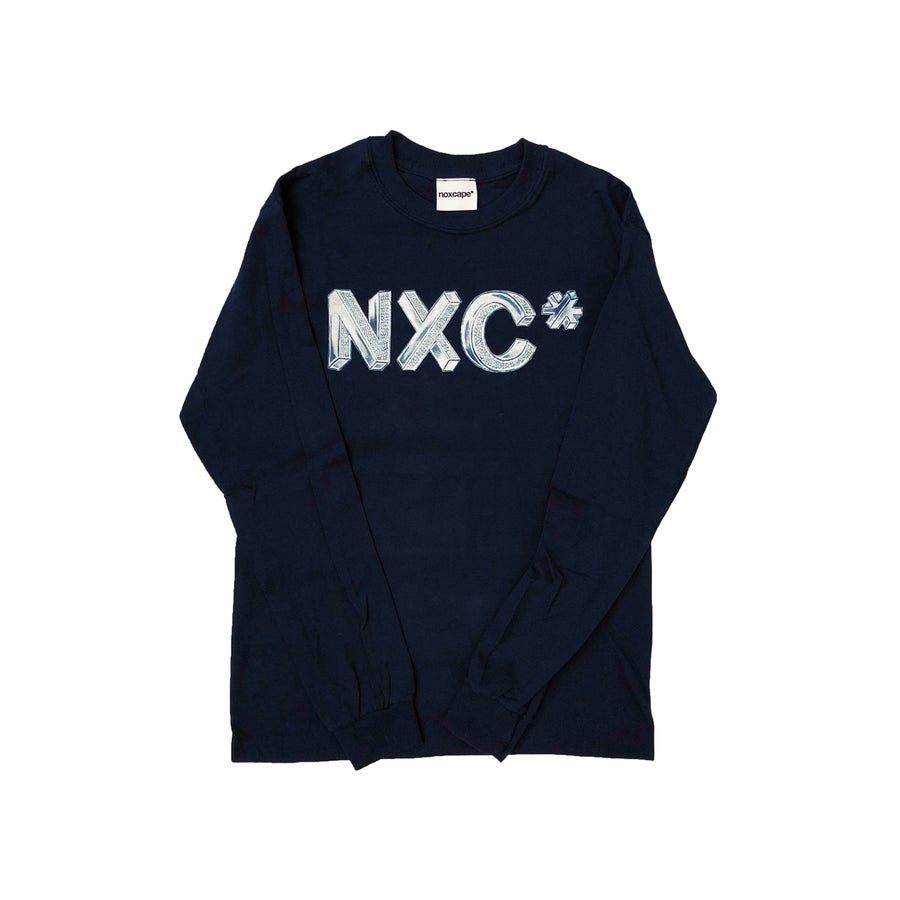 "Image of Navy Longsleeve ""Bling"""
