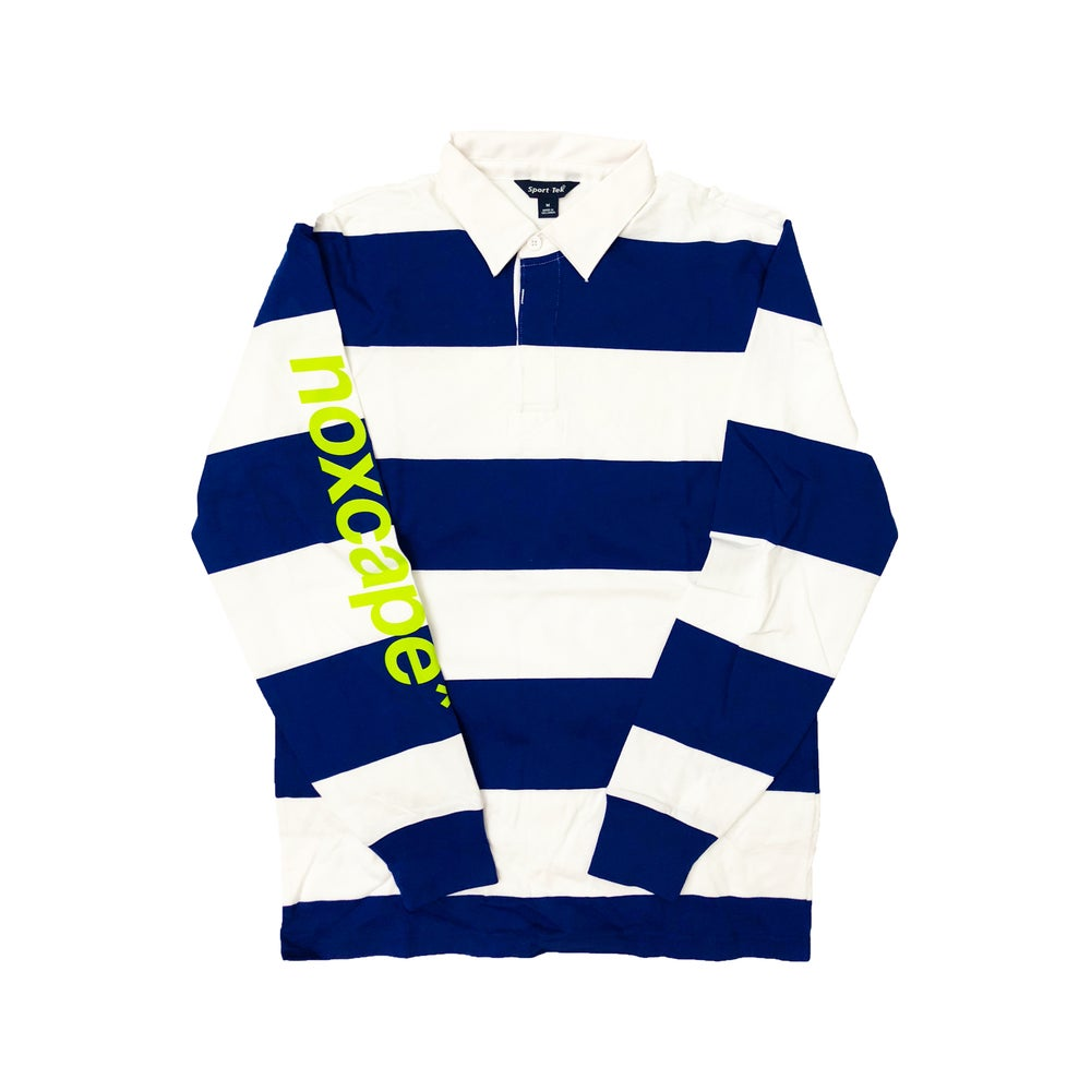 Image of Striped Rugby Longsleeve
