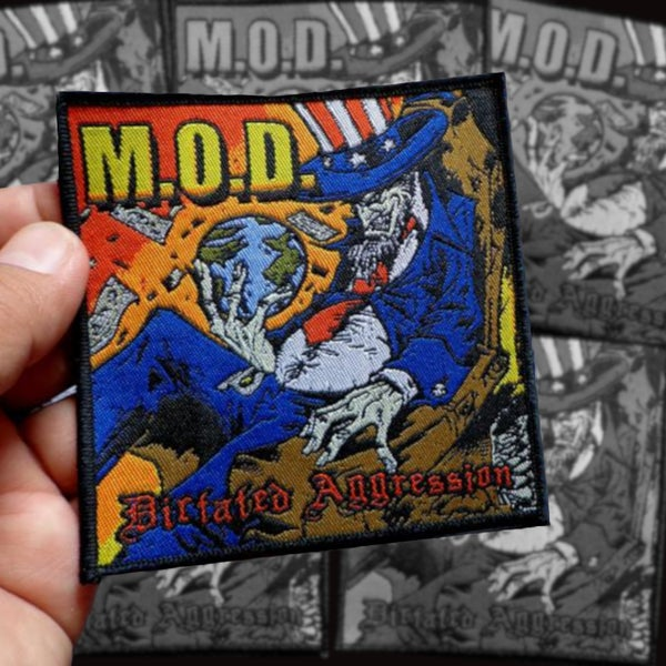Image of MOD Dictated Aggression woven patch