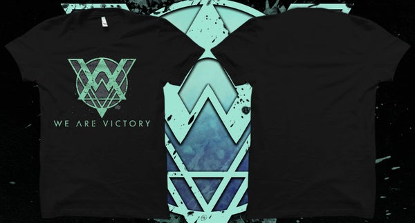"""Image of Logo T-shirt """"we are victory"""""""