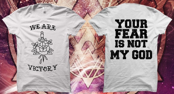 """Image of Dagger and rose """"your fear"""""""