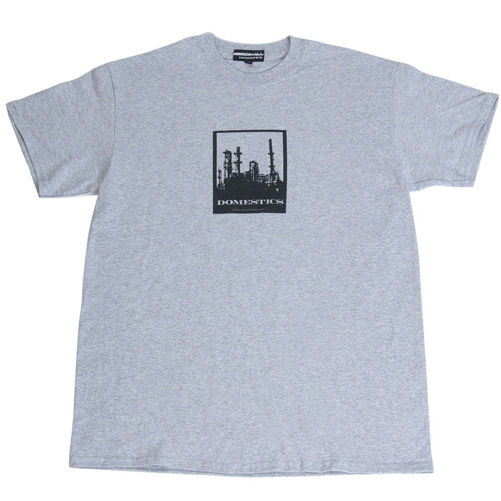 Image of DOMEstics. Factory T-shirt (grey)