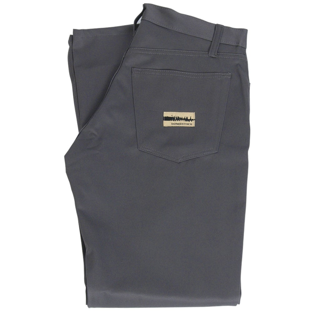 Image of DOMEstics. Made in USA Grey Twill Pants