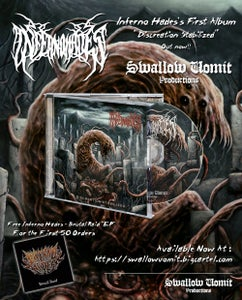 "Image of Inferno Hades - ""Discreation Stabilized"" CD"