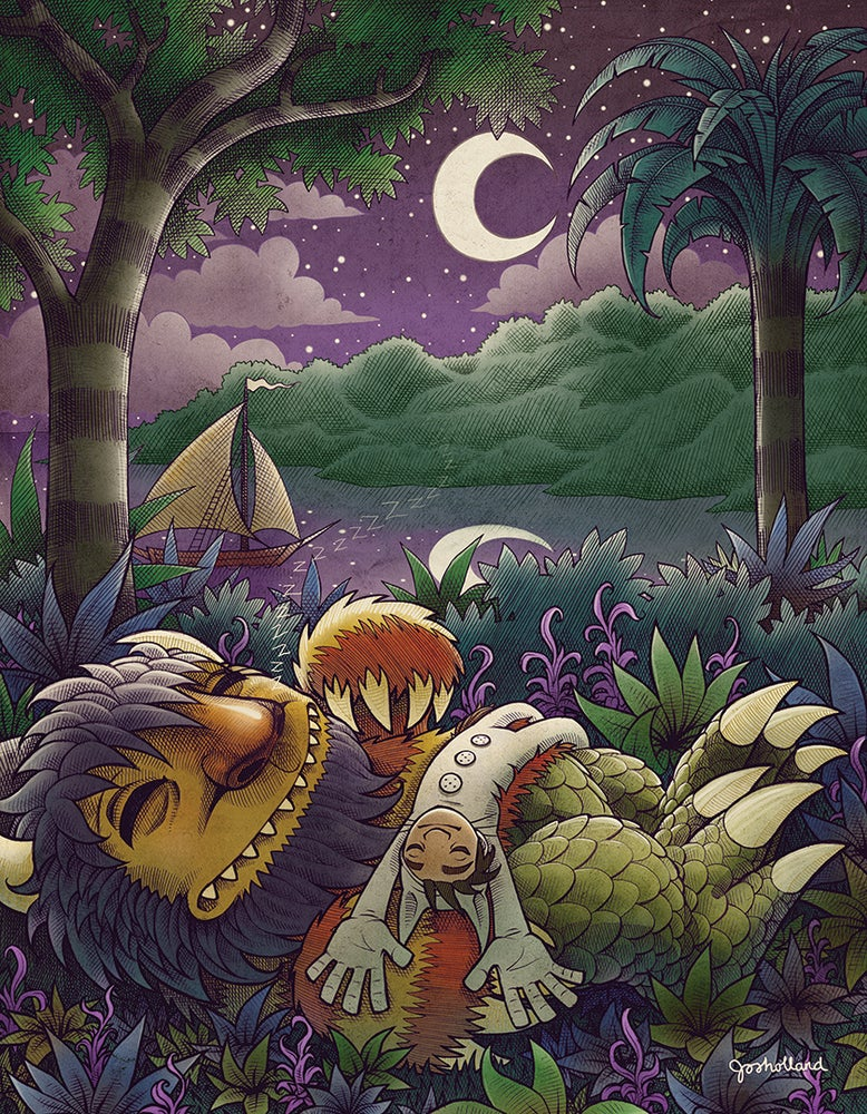 Image of WHERE THE WILD THINGS ARE POSTER