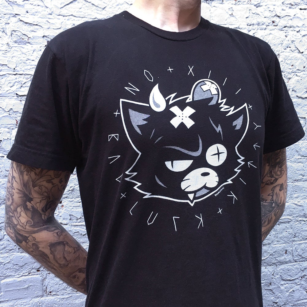 Image of BAD LUCK KITTY UNISEX TEE