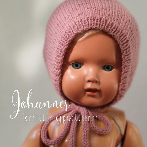 Image of Knitting pattern Johannes Bonnet