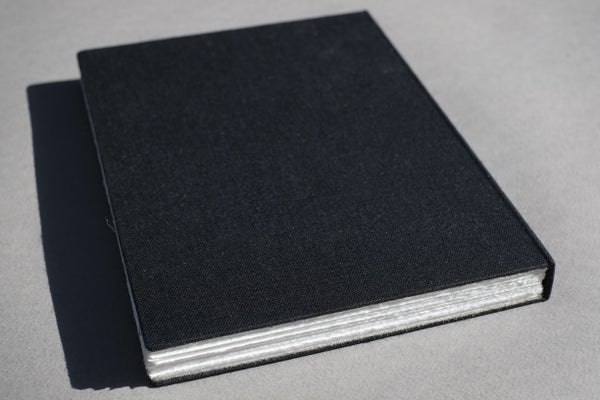 Image of hardcover sketchbook — codex bound