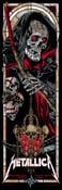 Image of METALLICA - HORSEMEN gigposters - DEATH