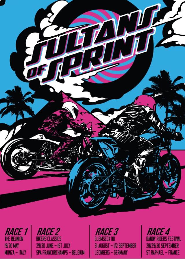 Image of Sultans of Sprint 2018 Challenge poster