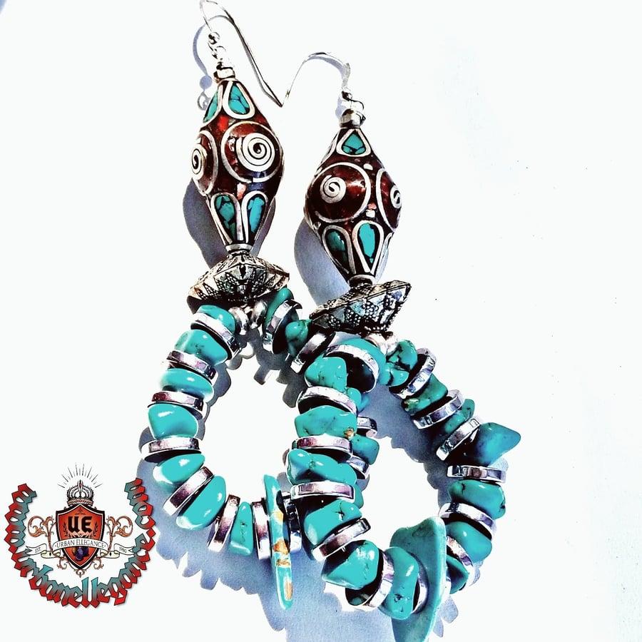 Image of Dharma Infinity Earrings