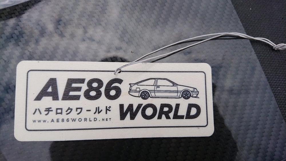 Image of AE86 WORLD Air Freshener *NEW*
