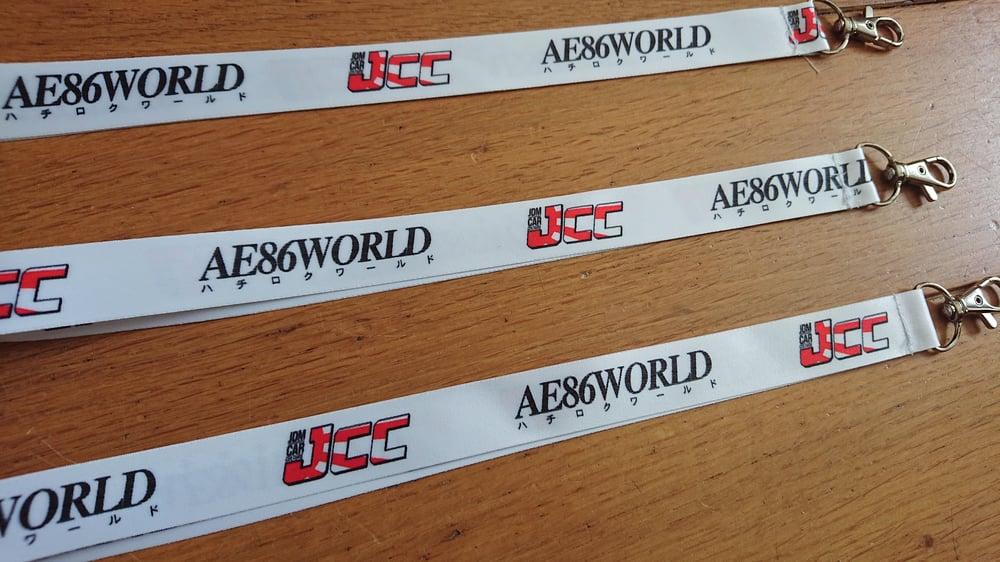 Image of AE86 WORLD / JCC Lanyard