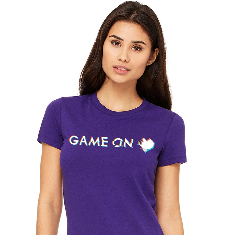 Image of Pop-Post Glitch Game On T-Shirt