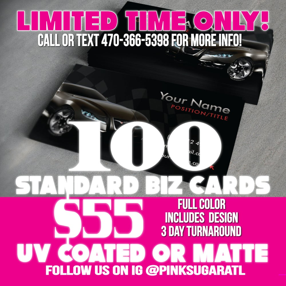 Image of Business Card Special