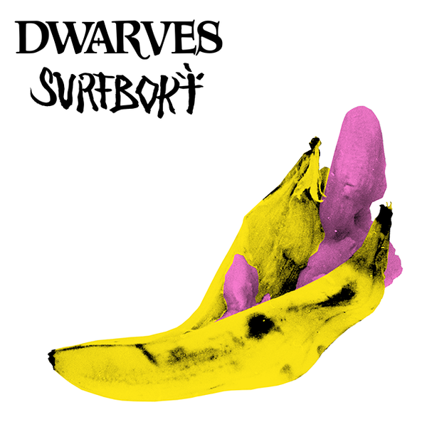 "Image of Dwarves / Surfbort - Split 7"" - The Giver b/w Fetus Split 7"" (Direct Edition)"