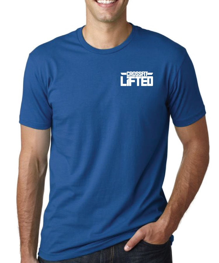 Image of Classic Lifted Logo T-shirt - ONTARIO - BLUE