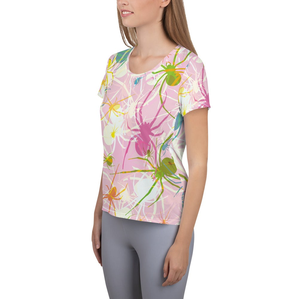 Image of Pink Widows Fitted Athletic T-shirt